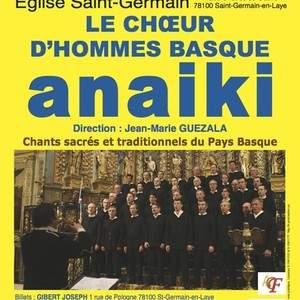 CHOEUR D'HOMMES BASQUE ANAIKI