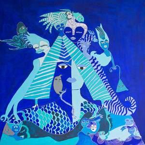 Aconcha artiste peintre cubain invitée à l'exposition Vitrine Bann'Art