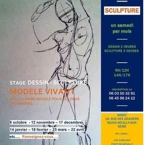 STAGE DE DESSIN  /  MODELAGE