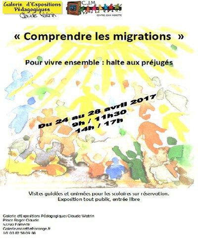« Comprendre les migrations  » Pour vivre ensemble : halte aux préjugé