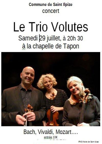 Concert de l'Ensemble Volutes