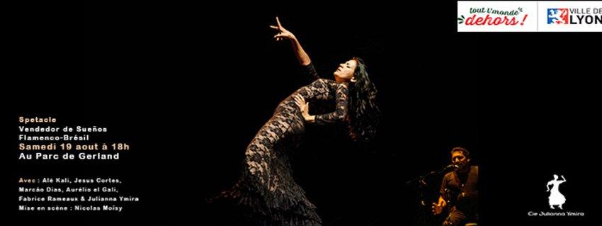 Flamenco-Brésil au Tout l'Monde Dehors