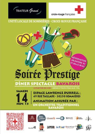 Samedi 14 Novembre 2015 : Une soirée de prestige & de solidarité au profit de la Croix-Rouge à Sommières !