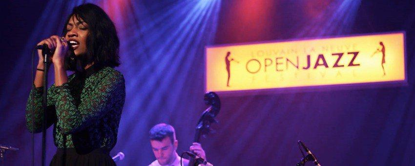 Open Jazz Festival 2017 à Louvain la Neuve