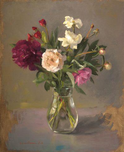 Stage de peinture à l'huile sur les fleurs en Provence, à Carpentras Atelier Nuances des Arts