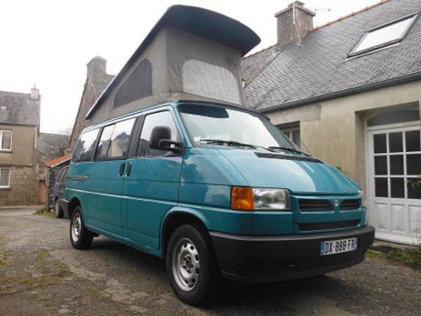 camping car t4 volkswagen reimo glomel 22110. Black Bedroom Furniture Sets. Home Design Ideas