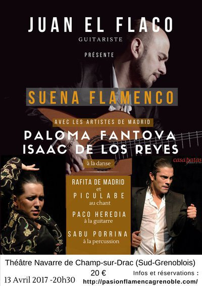 Grand spectacle de FLAMENCO dans le Sud-grenoblois