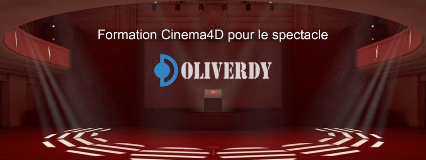 Cinema 4D pour le spectacle   C4D Initiation