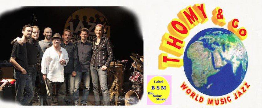 Thomy & Co - International Septet Afro Latin World Jazz & Vocal