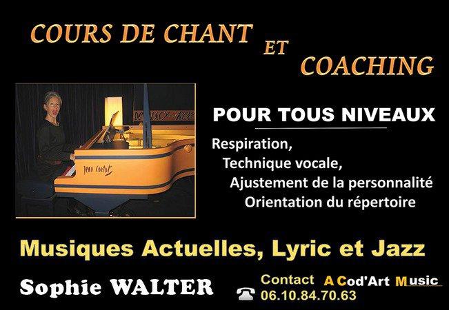 Cours de chant et Coaching - Tous niveaux