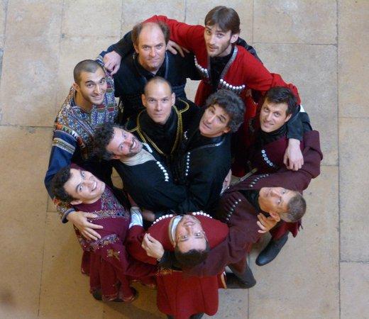 Polyphonies Géorgiennes - Ensemble Marani