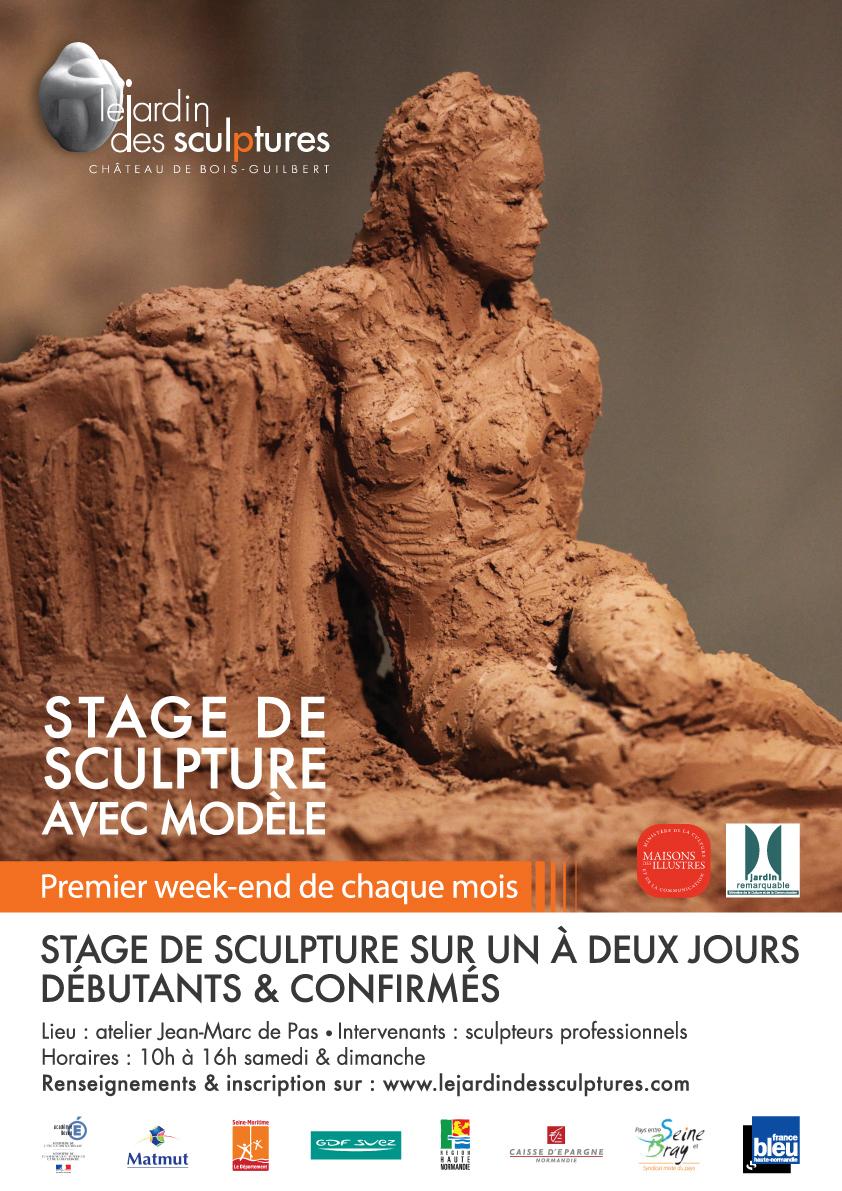 ... sculptures - château de Bois-Guilbert 76750 à Bois Guilbert (76750