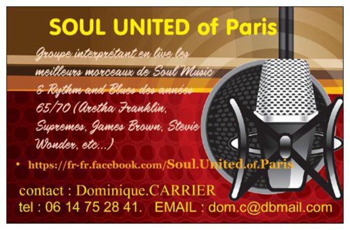 Emploi culturel  Groupe Soul United of Paris cherche  ~ Emploi Rosny Sous Bois