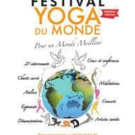 FESTIVAL YOGA DU MONDE POUR UN MONDE MEILLEUR - 25 26 27 AOÛT 2017