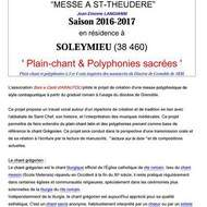 ATELIER CHANTS ANCIENS - POLYPHONIES SACREES