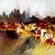 peinture abstraite et performance