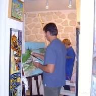 cours de peinture en charente maritime