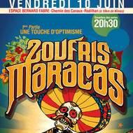 CONCERT : Zoufris Maracas & Une Touche d'Optimisme