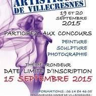 Grands Concours Peinture, Sculpture, Photo à Villecresnes (94) + expo et conférences