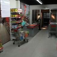 Décor supermarché