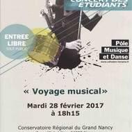 Concert - Voyage musical