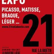 """Exposition """"21, Rue la Boétie"""""""