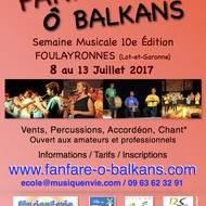 Fanfare Ô Balkans - Semaine Musicale