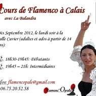 Cours de Flamenco Calais 2012/2013