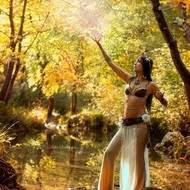 Raphaelle danseuse tribale