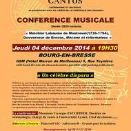 CONFERENCE MUSICALE