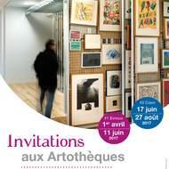 Invitations aux artothèques : Empruntez l'art