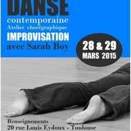 Stage de danse contemporaine et improvisation pour tous