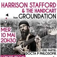 HARRISON STAFFORD (Groundation) & Docta P Philosofik en concert