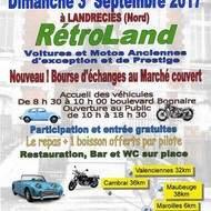 rassemblement voitures, motos anciennes