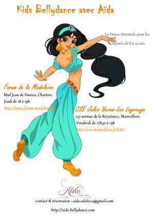 cours de danse orientale pour enfants - kids bellydance