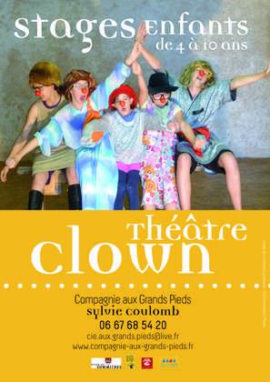Stage Clown Théatre - Enfants (4 à 6 ans et 7 à 10 ans)